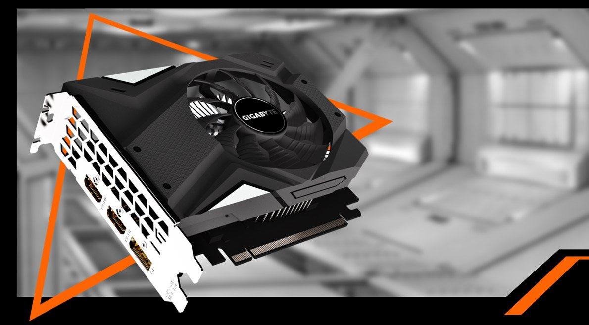 GIGABYTE GeForce GTX 1650 Mini ITX OC