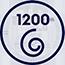 1200 otáček