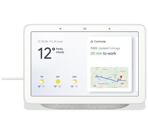 Google Home Hub Chalk Google Assistant