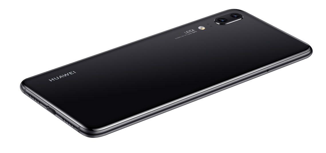 Huawei P20, design