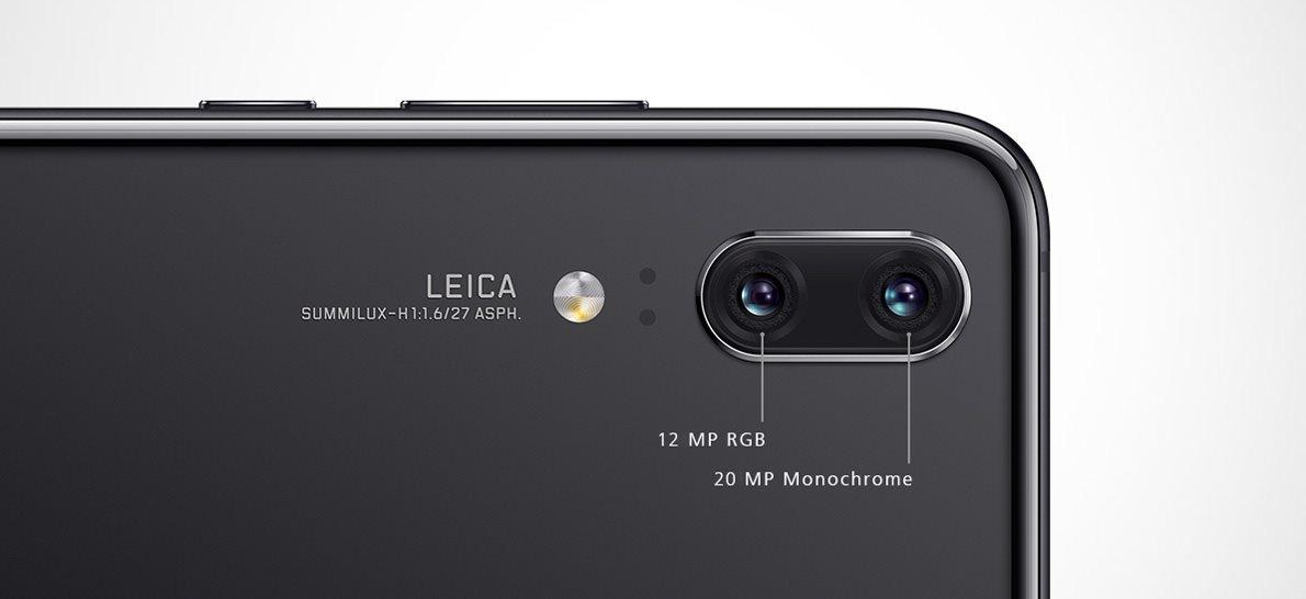 Huawei P20, kamera
