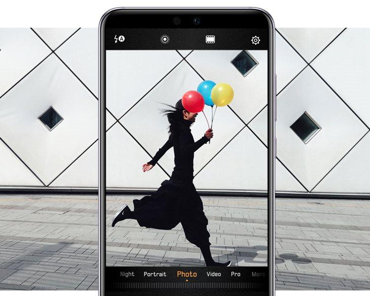 Huawei P20 Pro, momentky