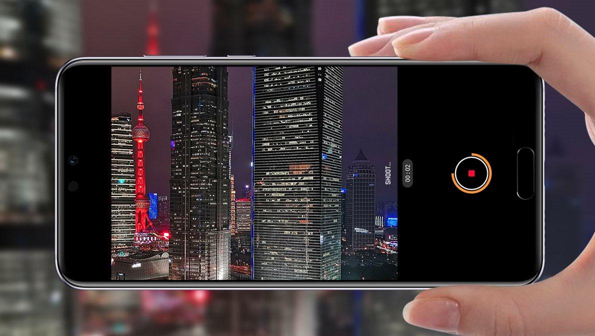 Huawei P20 Pro, noční snímky