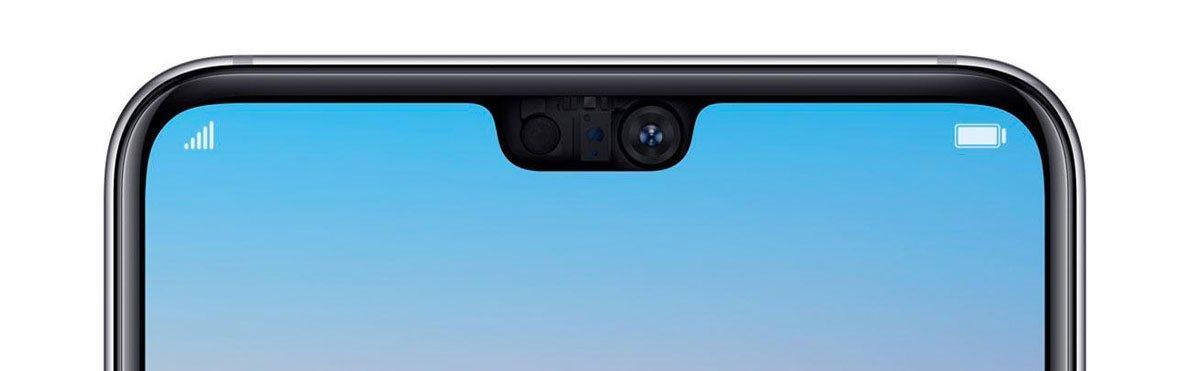 Huawei P20 Pro, čelní kamera