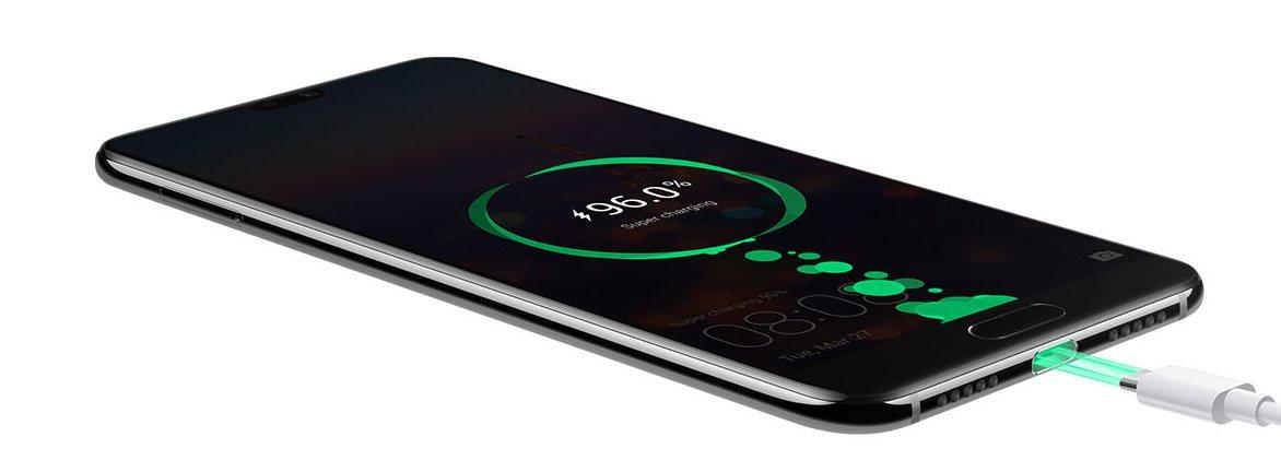 Huawei P20 Pro, baterie