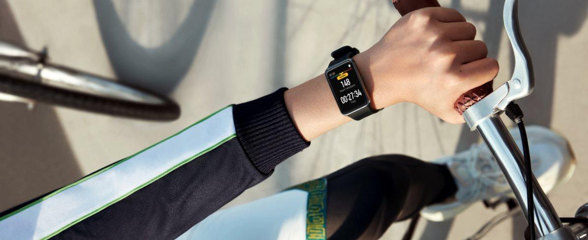 Huawei Watch Fit Elegant White - Chytré hodinky   Alza.cz
