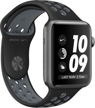 99f3cf651 Apple Watch Series 2 Nike+ 42mm Stříbrný hliník s platinově bílým ...