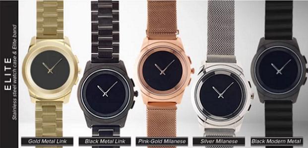 MyKronoz ZeTime Elite Black Metal - 39 mm - Chytré hodinky  429dfd16e78