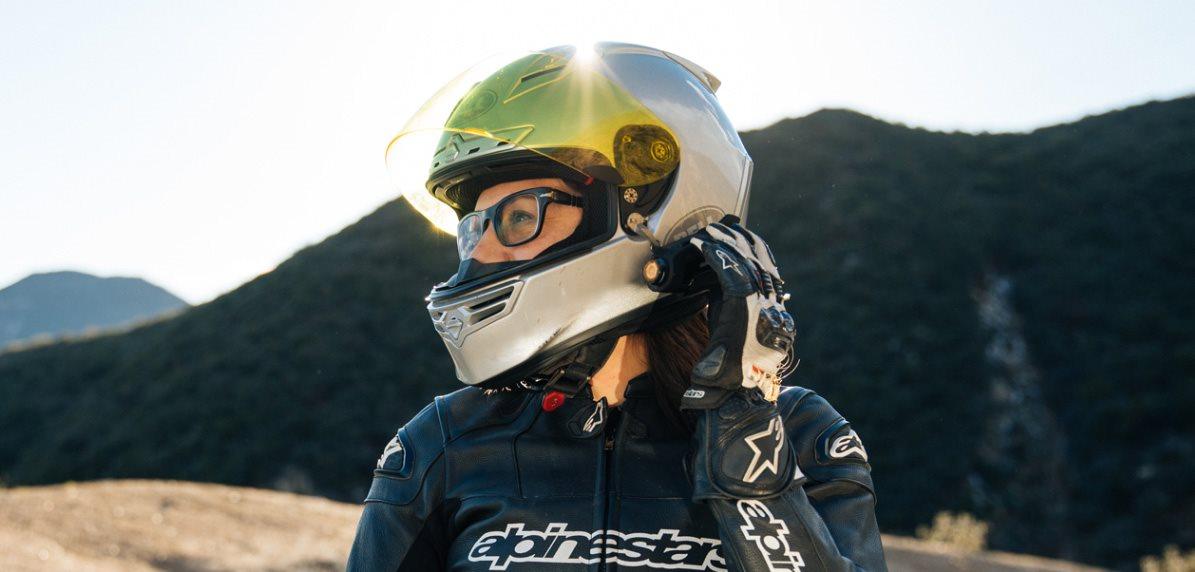 Instalace na helmu