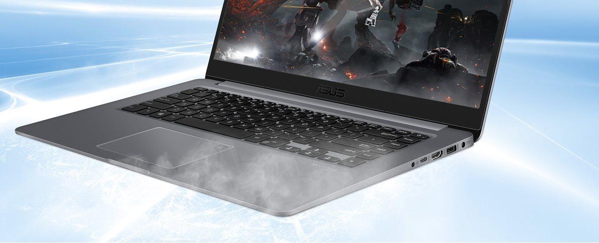 Notebook ASUS VivoBook S14, chlazení