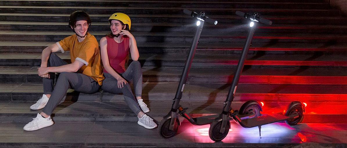 Elektrická koloběžka Ninebot KickScooter E25E by Segway