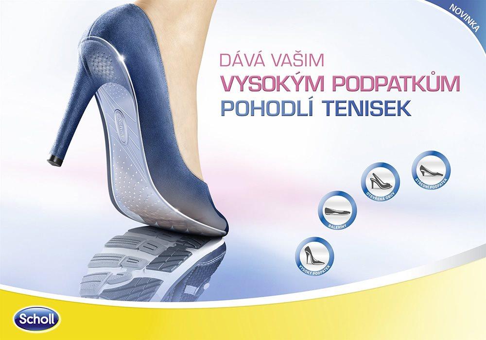 051298bb161 SCHOLL GelActiv Gelové vložky do bot s podpatkem pro celodenní ...