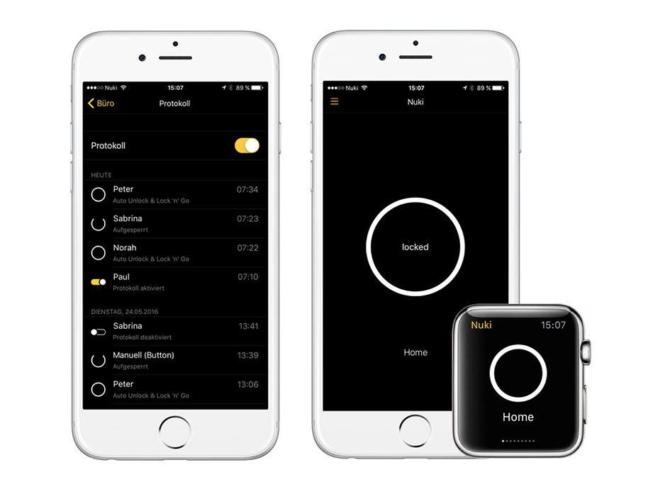 Mobilní aplikace Nuki App