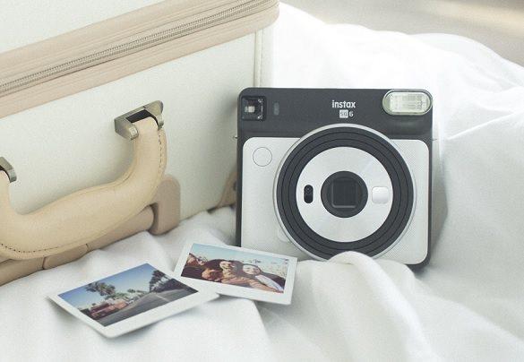 Instantní fotoaparát Fujifilm Instax Square SQ6 bílý