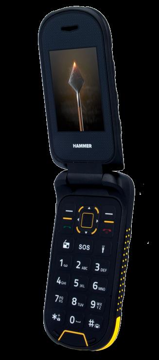 myPhone HAMMER Bow Plus oranžovo-černý - Mobilní telefon  19c23f856f6