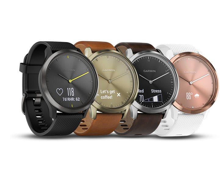 2ed8c78715f Garmin vívomove Optic Sport Black (velikost L) - Chytré hodinky ...