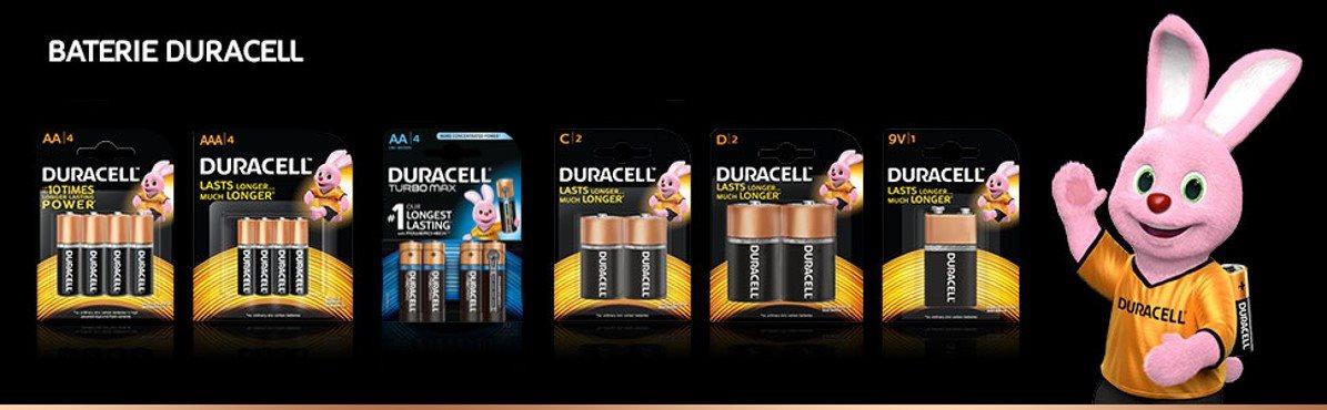 Duracell Basic AAA 4 ks