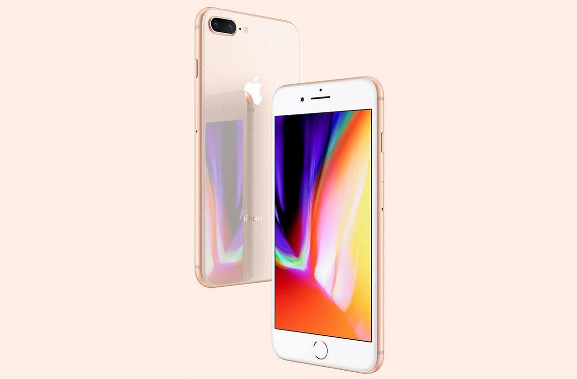 Mobilní telefon iPhone 8 a iPhone 8 Plus