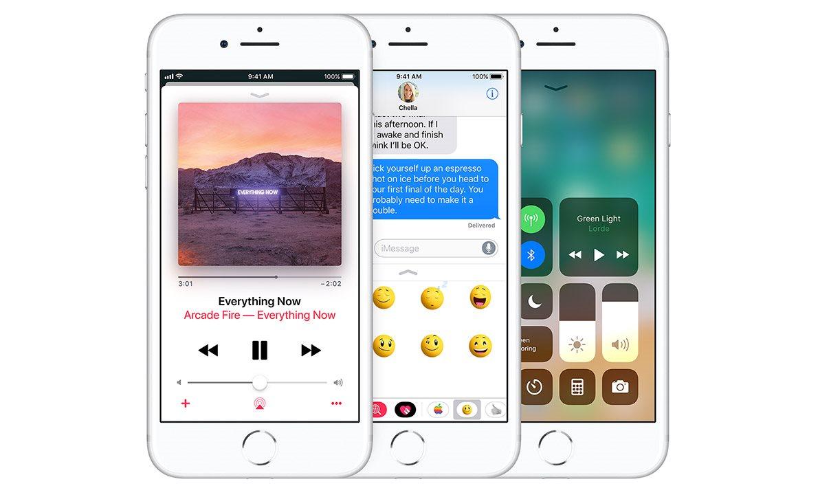 Novinky v  iOS