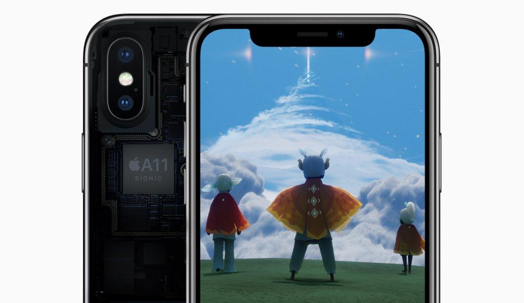 Mobilní telefon iPhone X, A11