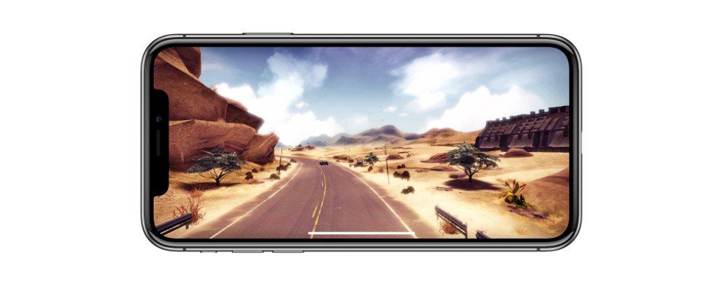 Mobilní telefon iPhone X, hry