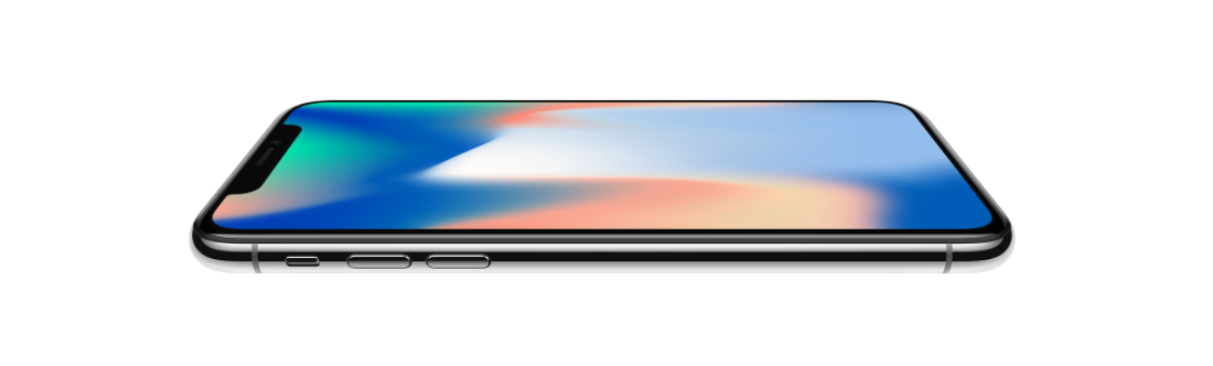 Mobilní telefon iPhone X, design
