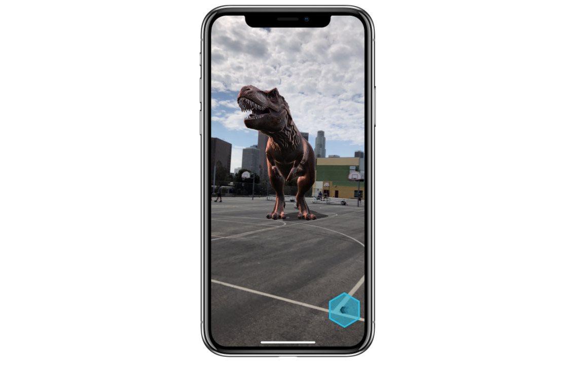 Mobilní telefon iPhone X, AR