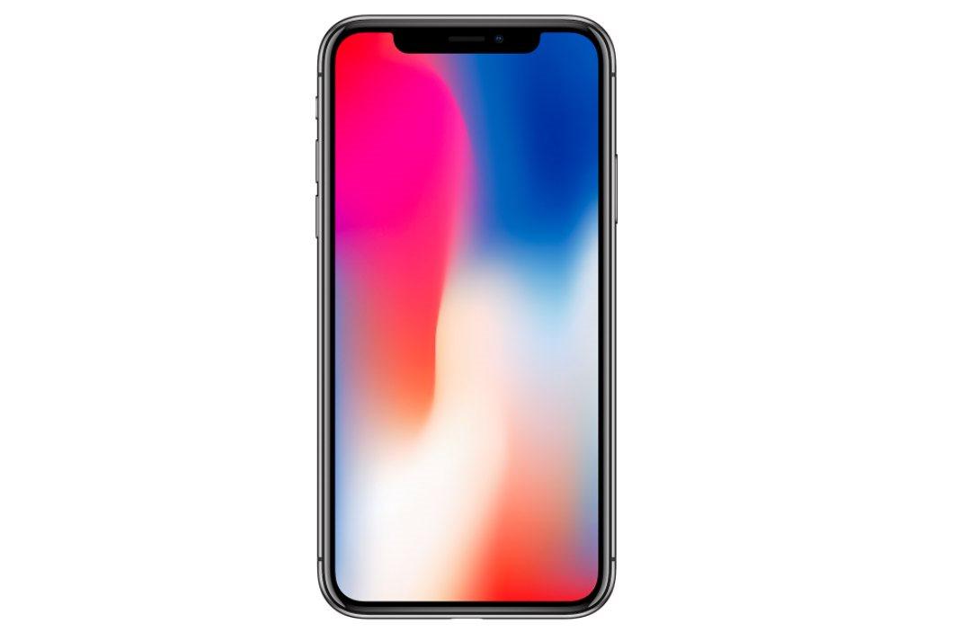 Mobilní telefon iPhone X v celé kráse