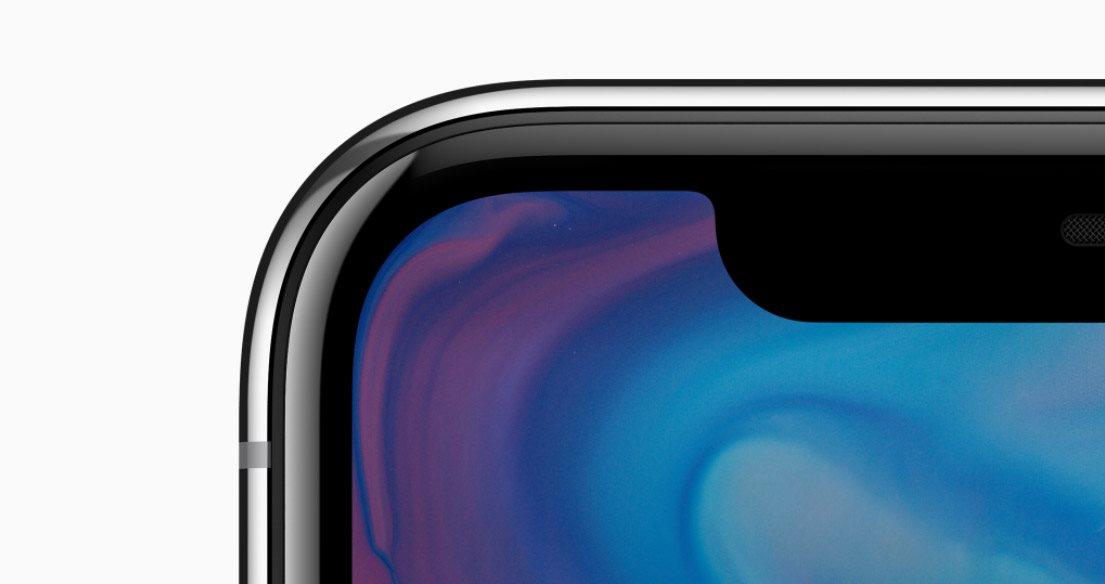 Mobilní telefon iPhone X, detail