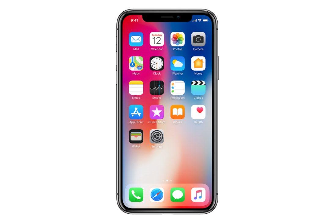 Mobilní telefon iPhone X, Super Retina