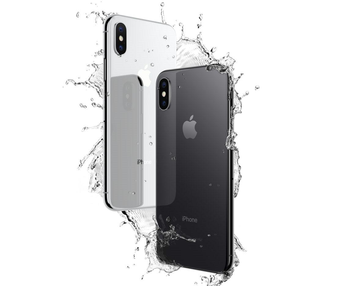 Mobilní telefon iPhone X, odolnost