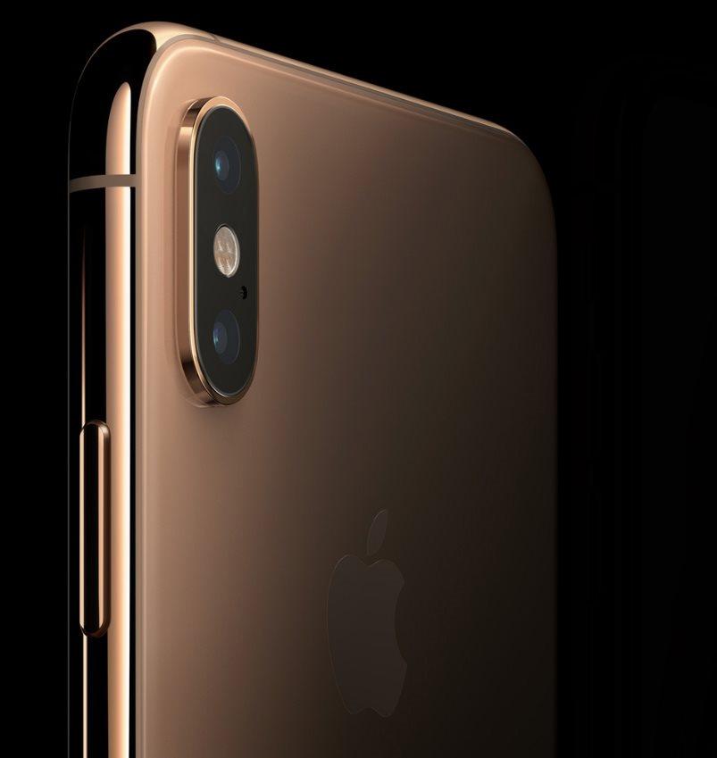 iPhone Xs, duální kamera