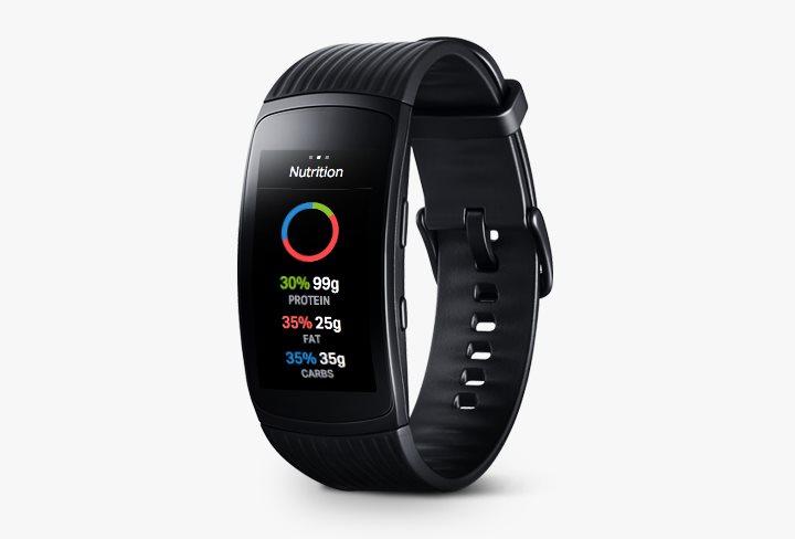 Samsung Gear Fit2 Pro Black - Fitness náramek  f49cae448d