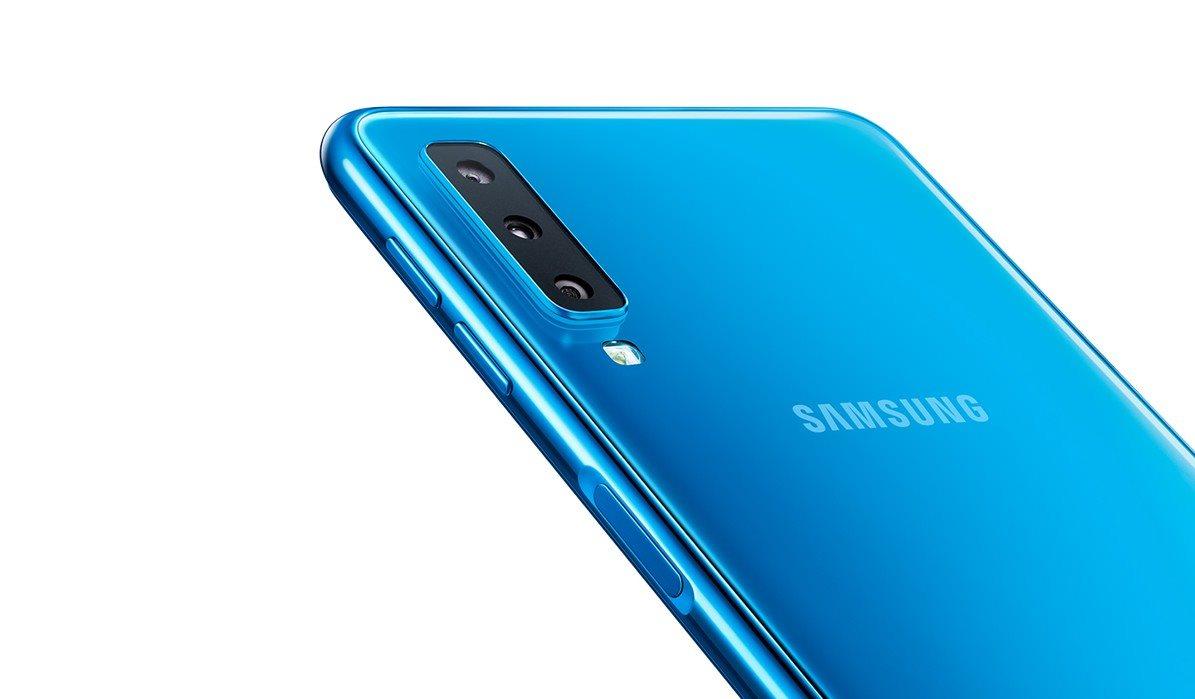 eb321b70c Samsung Galaxy A7 Dual SIM modrá - Mobilní telefon | Alza.cz