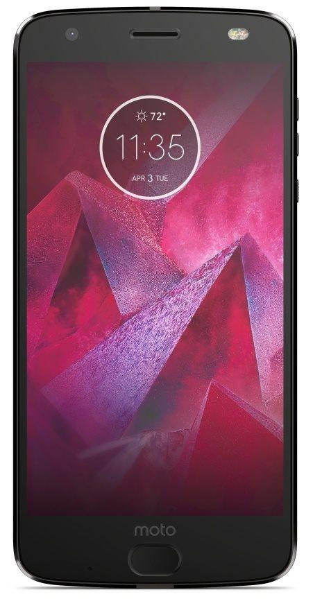 Přední strana telefonu Motorola Moto Z2 Force Black
