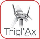 Tefel PERFECTMIX+ Tripl'Ax technologie