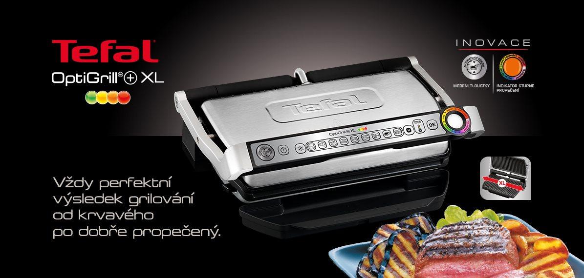 Elektrický gril Tefal Optigrill+ XL GC722D34