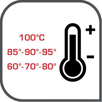 7 nastavení teplot