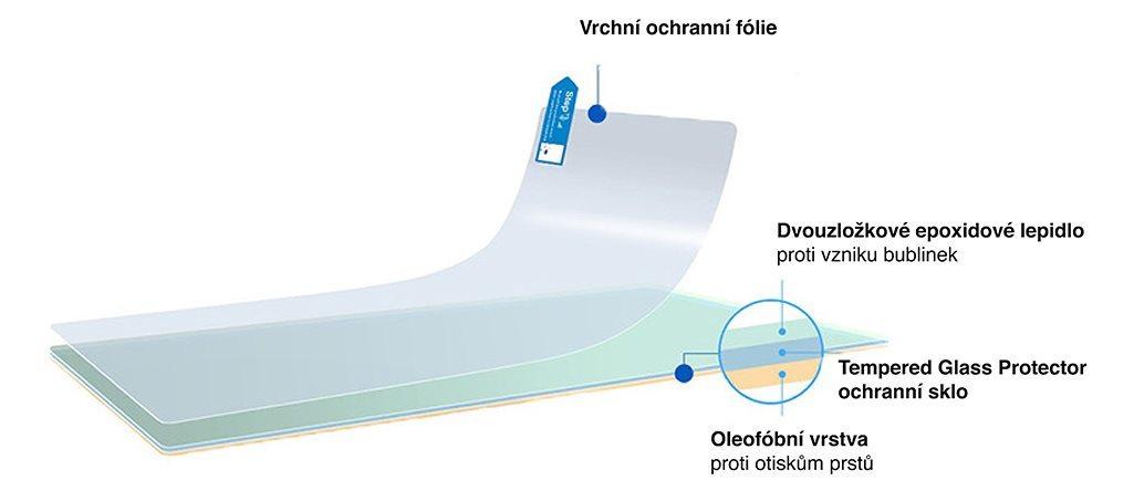 7b31e188a6 Tempered Glass Protector pro Garmin Vivoactive 3 - Ochranné sklo ...