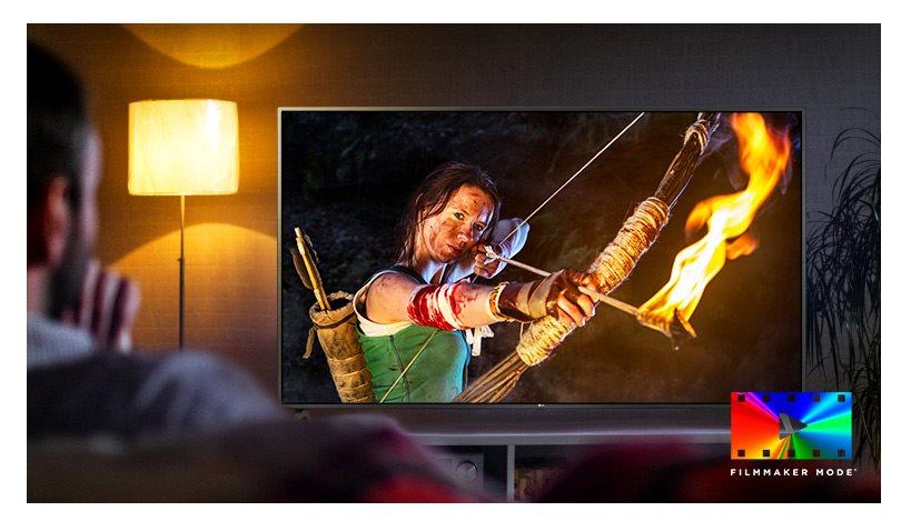 UHD Smart TV LG 55UN7400