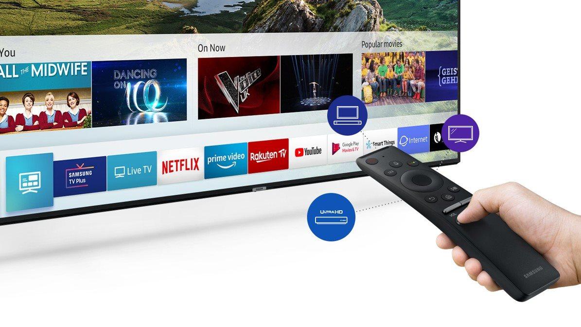 6c434e0a3 Přehledné menu vám usnadní přístup k veškeré zábavě od běžného televizního  vysílání až po nainstalované aplikace. Pomocí One Remote můžete ovládat  nejen ...
