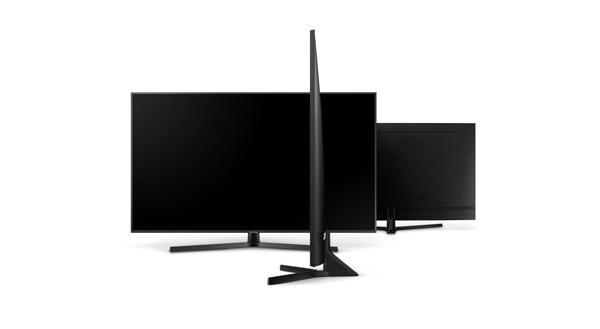 Samsung NU7442, tenký profil