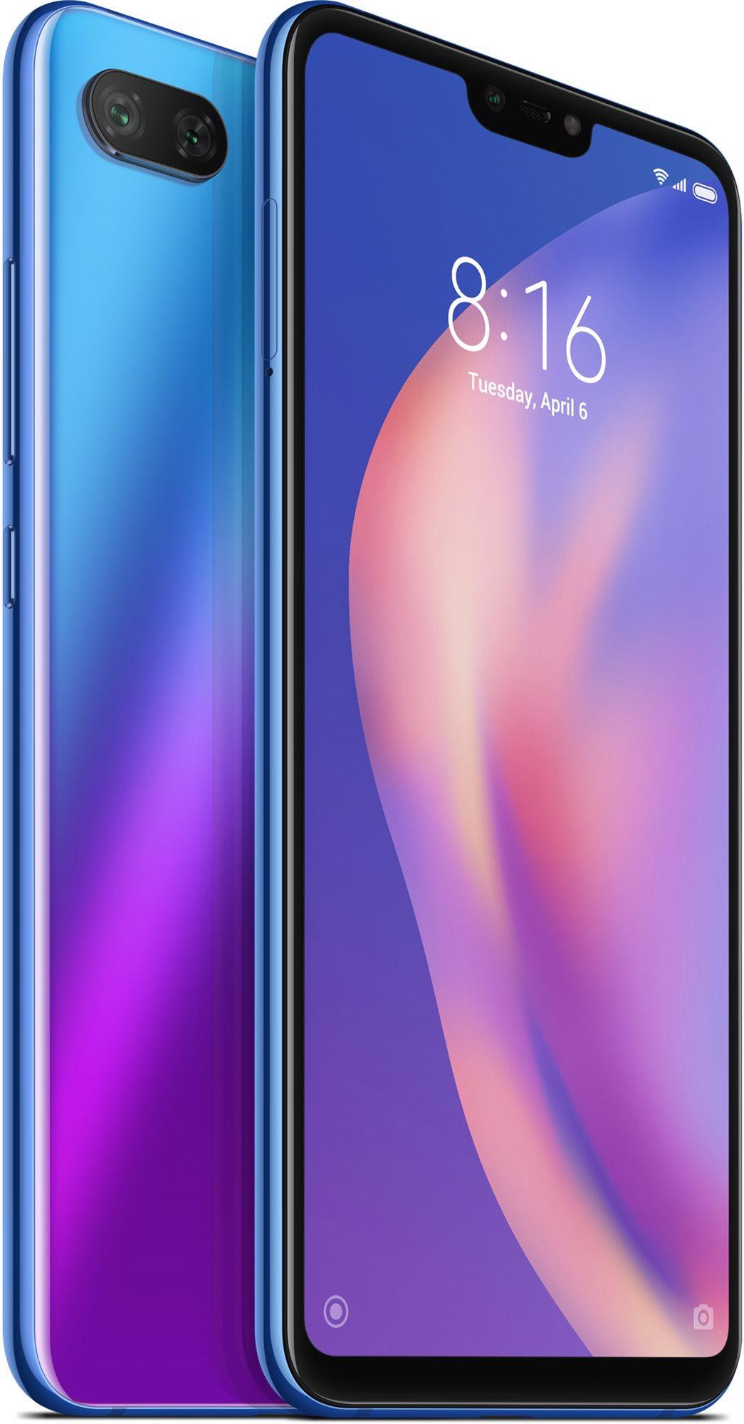 5595a291b Xiaomi Mi 8 Lite 128GB LTE modrá - Mobilní telefon