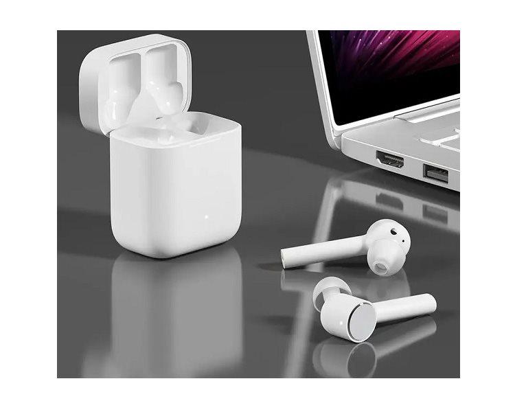 Bezdrátová sluchátka s dobíjecím pouzdrem