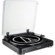 Audio-technica AT-LP60BK BT - Gramofon