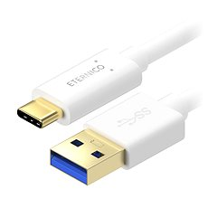 Eternico Core USB-C 3.1 Gen1, 1m White - Datový kabel