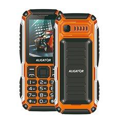 Aligator R30 eXtremo černá/oranžová - Mobilní telefon