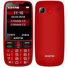 ALIGATOR A890 Senior červená - Mobilní telefon