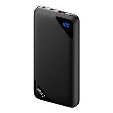 AlzaPower Source 16000mAh Quick Charge 3.0 Black - Powerbanka