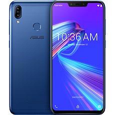 Asus ZenFone Max M2 modrá - Mobilní telefon